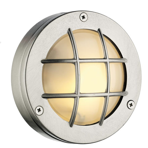 Pembroke Wall Light PEM5038 Nickel David Hunt Lighting