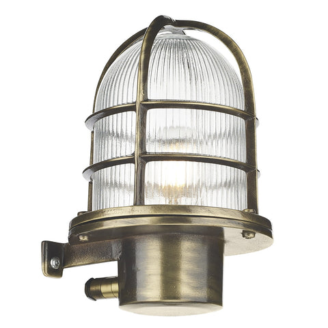 Pier Wall Light Antique Brass PIE1675 - The Light Company