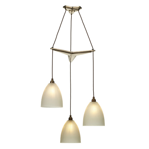 Propellor Triple Pendant with Shades PRO0363