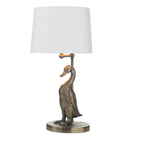 Puddle Table Lamp Bronze Base Only PUD4263 David Hunt Lighting