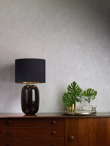Pura Table Lamp Black / Gold Base Only PUR4322