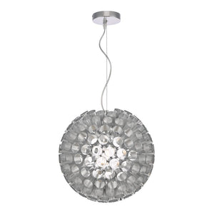 Serafina 1 lt Pendant Chrome där lighting SER0150