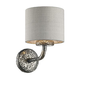Sloane Wall Light Pewter SLO0799 With Shade
