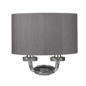 Sloane Wall Washer Pewter SLO3099 With Shade