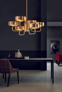 Sound Chandelier 6lt by Masiero
