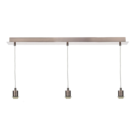 3 Light Suspension Plate Copper SP364 - The Light Company