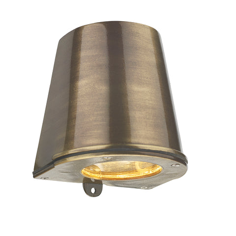 Strait Wall Light STR1575 Antique Brass