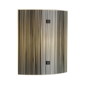 Swirl Black Wall Light SWL0722 David Hunt Lighting