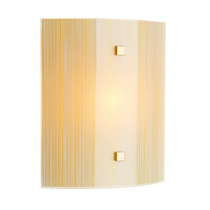 Swirl Amber Square Wall Light SWL0763 David Hunt Lighting