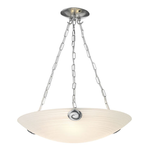Swirl Pendant White SWP0367 David Hunt Lighting