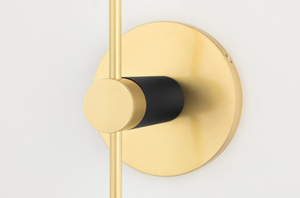 AVA Wall Sconce H109101A-PN-CE Mitzi Lighting