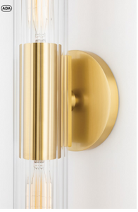 CECILY Wall Sconce H177102S-PN-CE MItzi Lighting