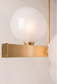 Hinsdale Wall Sconce 8701-AGB-CE Hudson Valley Lighting
