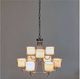 Laura Ashley Southwell 9 Light Pendant Polished Chrome