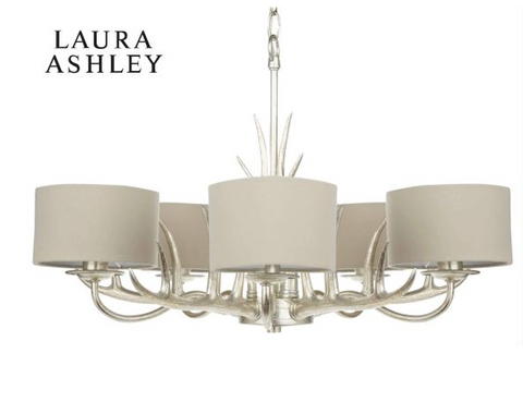 Laura Ashley Mulroy 5 Light Chandelier