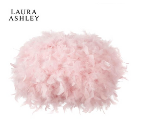 Laura Ashley Pink Feather Easy Fit Shade
