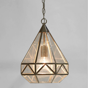 Laura Ashley Zaria Pendant Polished Nickel