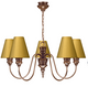 Doreen 5 Light Chandelier Bronze David Hunt Lighting