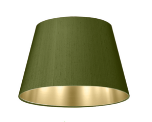 Empire Drum Shade EMP35 cm Silk, Satin, Linen