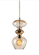 Futura Pendant XL Gold Various Colours Ebb and Flow