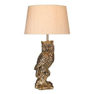 Tawny Owl Table Lamp Base Only Bronze TAW4263 David Hunt Lighting