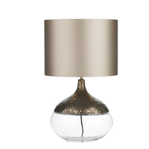 Teardrop Table Lamp Bronze TEA4363 Base Only David Hunt Lighting