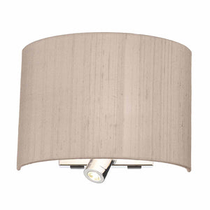 Wetzlar Wall Light Comes with Silk Shade WET0999 - The Light Company