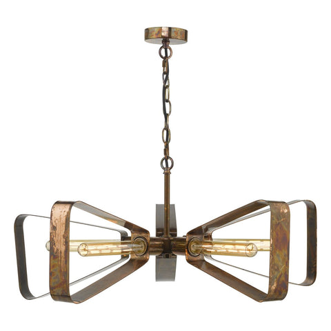 Yavanna Oiled Copper Pendant 5Lt YAV0564 där lighting