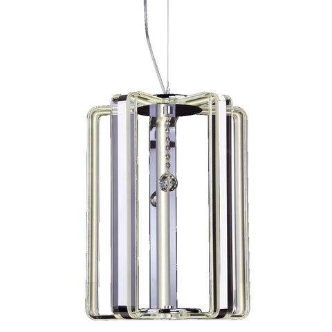 Carina 5 Light Lantern Pendant LED där lighting CAR8608
