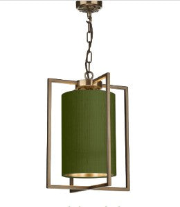 Chiswick Single Pendant with Bespoke Shade CHI0175