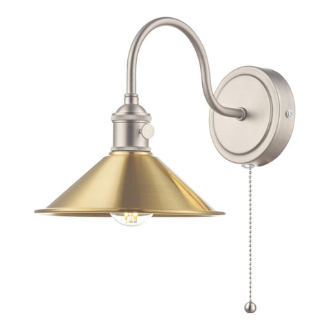 Hadano Wall Light Modular där lighting Antique Chrome