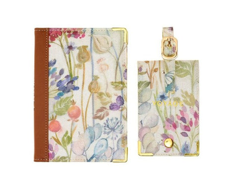 Voyage Maison Passport Cover and Luggage Tag Hedgerow