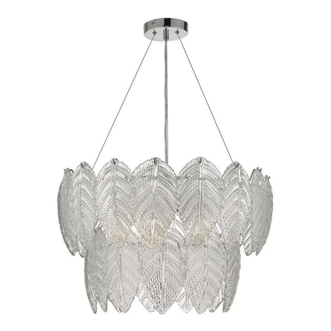 Phillipa Clear Glass Pendant där lighting PHI0308
