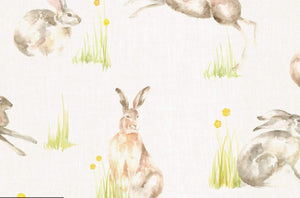 Racing Hares Wallpaper Voyage Decoration