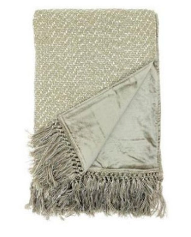 Voyage Maison  Throw T160004 Neshira Dawn Silk Throw
