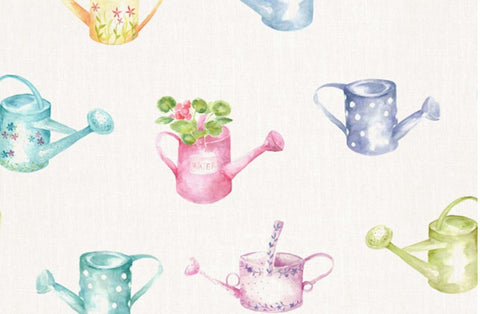Watering Cans Wallpaper Voyage Decoration