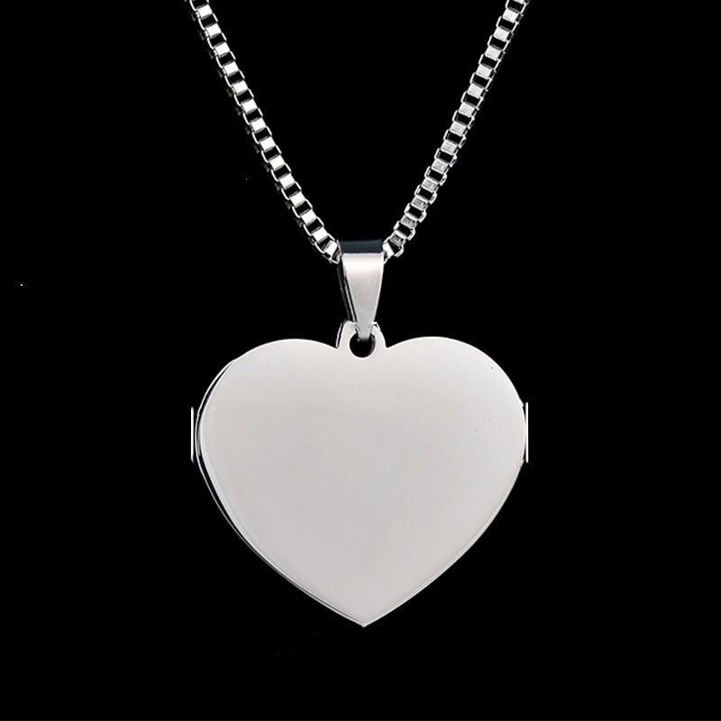 Stainless steel love pendant