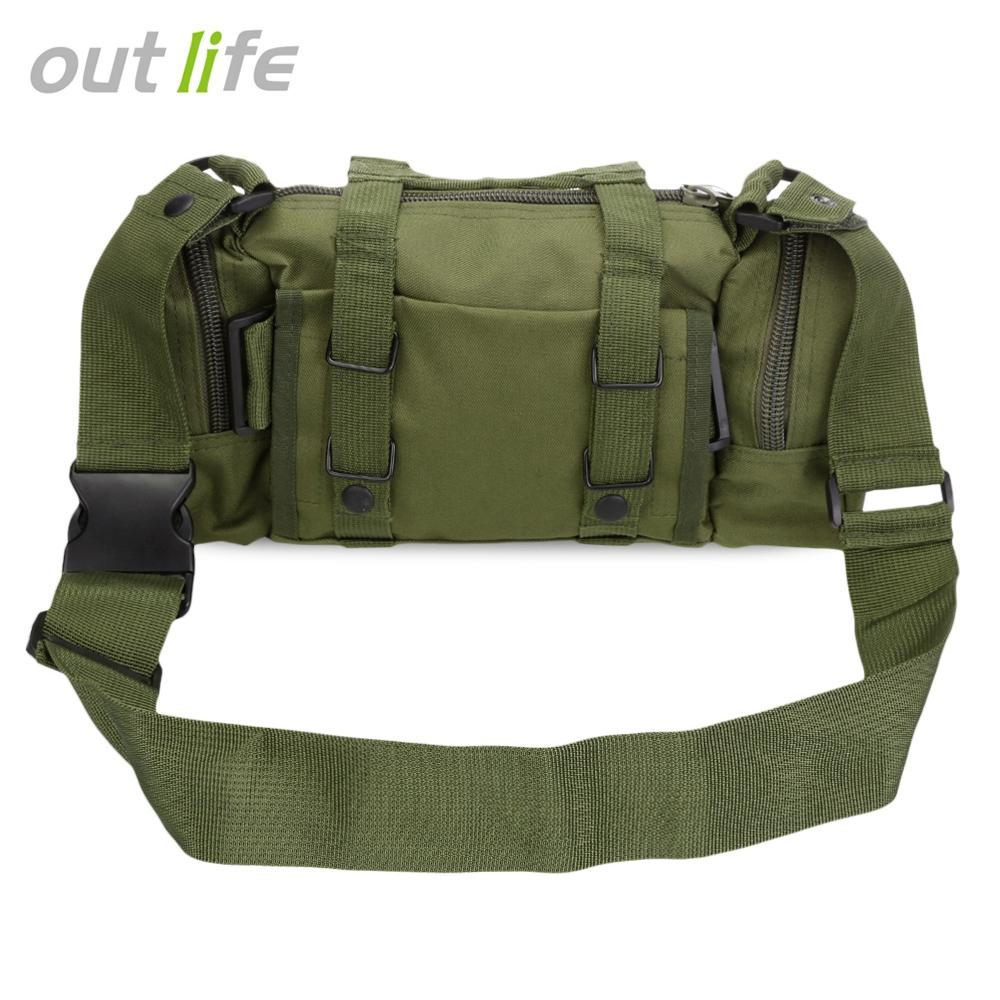 Outlife Multifunctional Tactical Molle Waist Bag Backpack