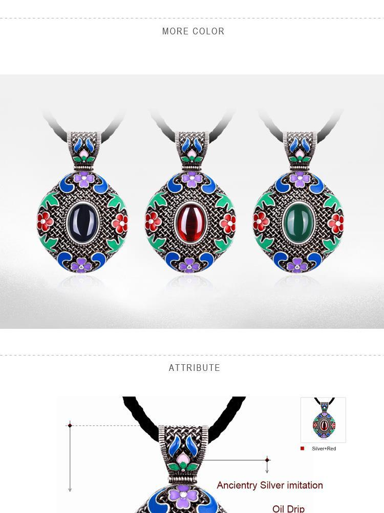 N014-B Women National Style Necklace