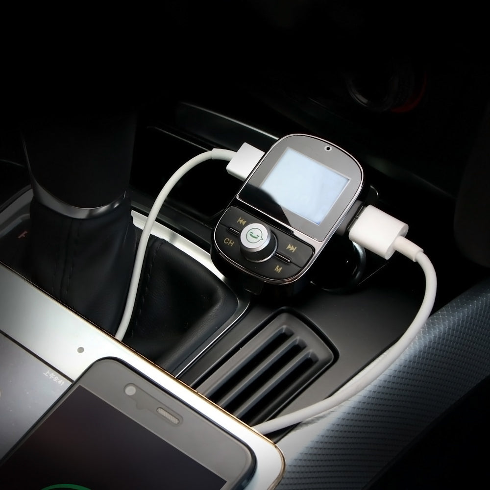 Car MP3 Bluetooth Player Charger