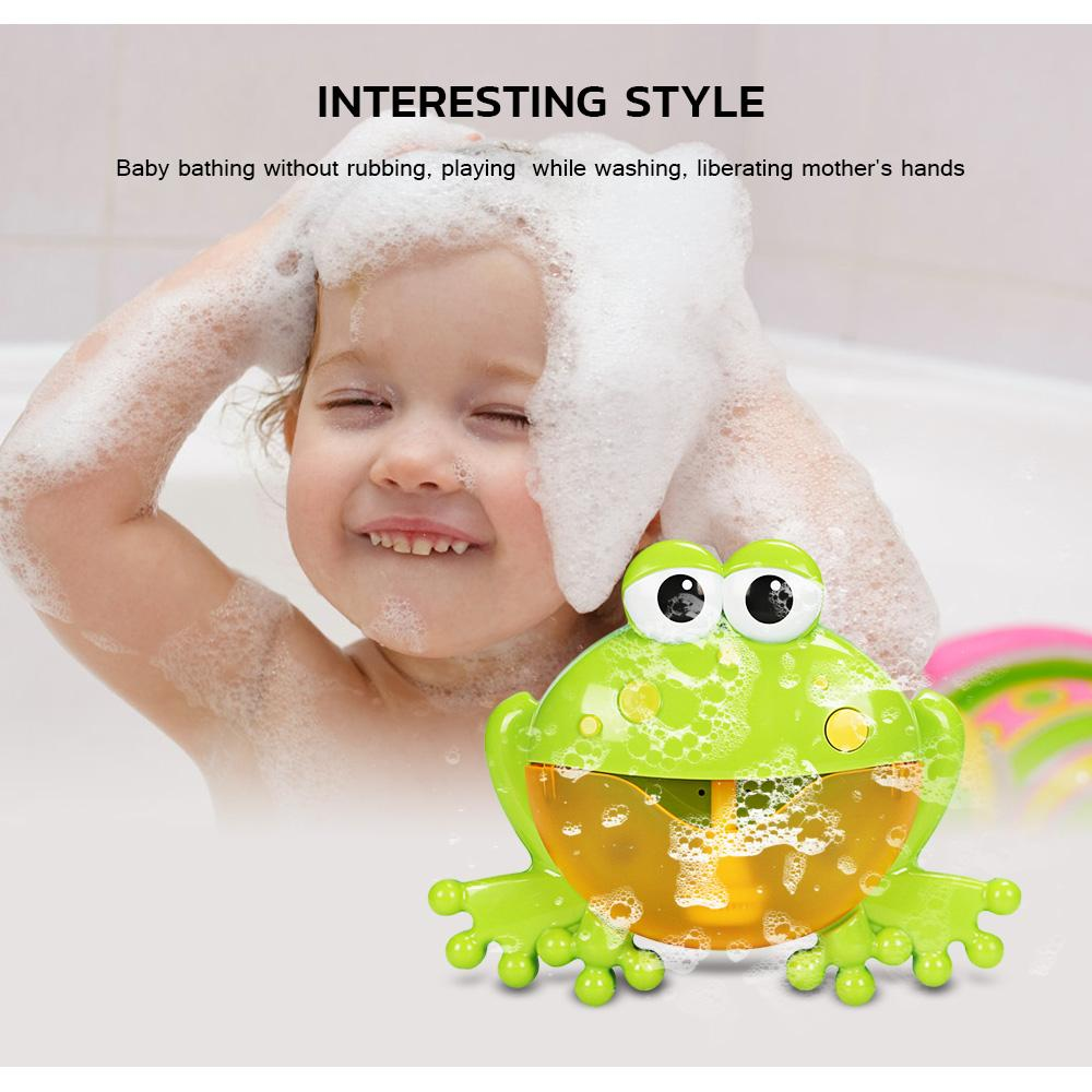 Bubble Bath Frog