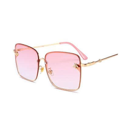 Oversized big box ladies sunglasses