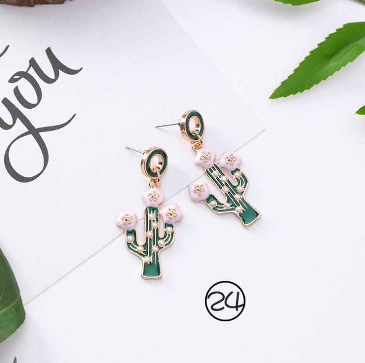 Korean version of the personality wild green Sen earrings temperament long paragraph super fairy earrings retro cold wind tassel earrings