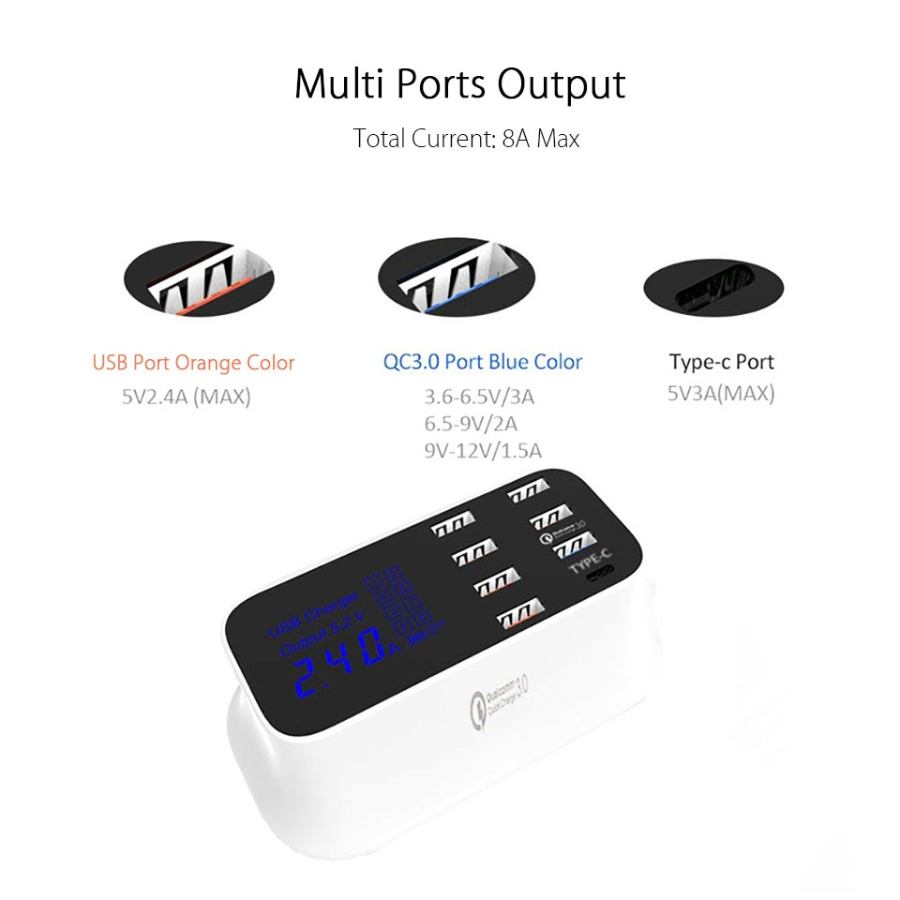 Multi Port Charger Station
