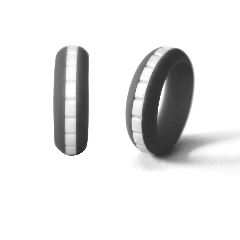 Step silicone ring