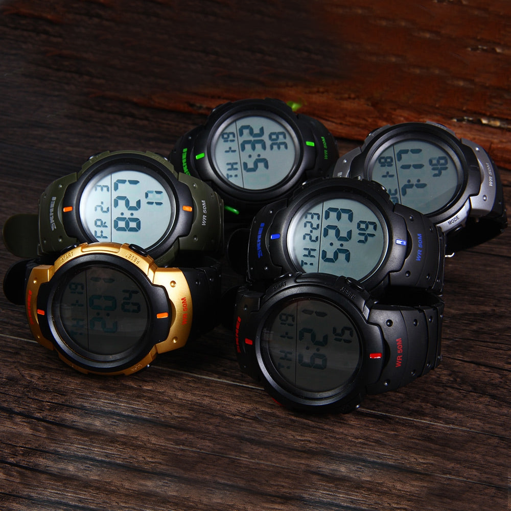 Multifunctional LED Watch