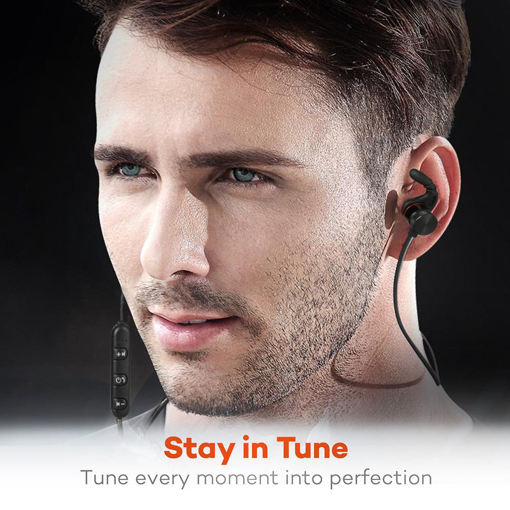 Magnetic Handsfree  Noise Cancelling Headset