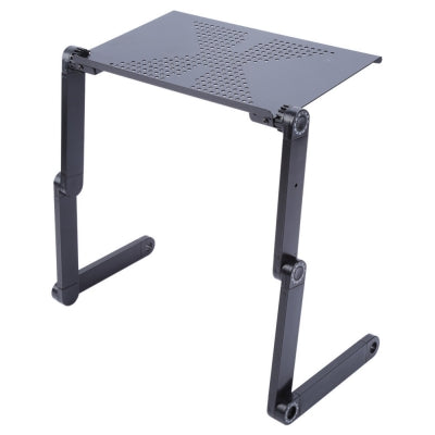 Foldable Adjustable Laptop Bed Table Stand Lap Computer Notebook Desk