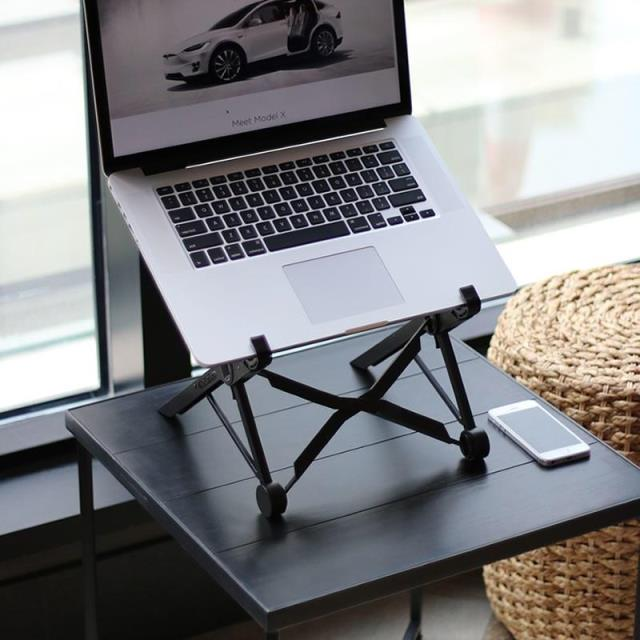 Office laptop stand NEXSTAND creative folding can lift the portable radiator to protect the cervical spine