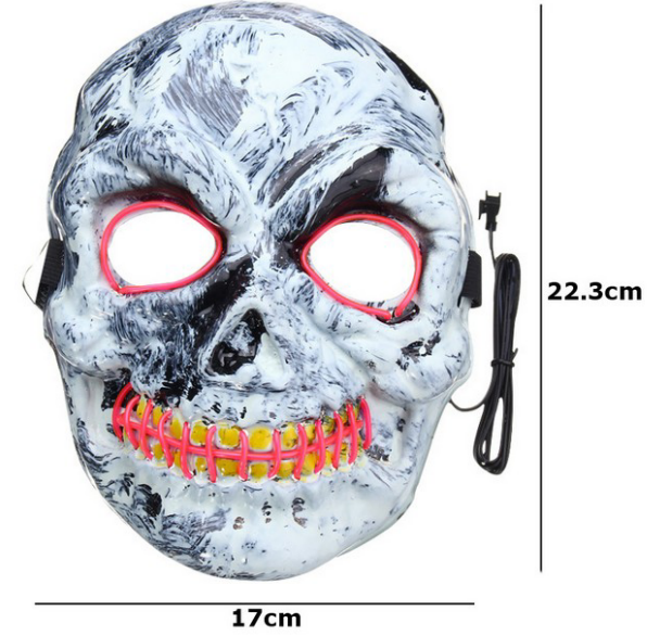 Luminous Skull Mask